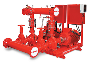Hệ thống bơm PCCC ETNA - Model Fire Pumps in Complying with NFPA 20 Standard