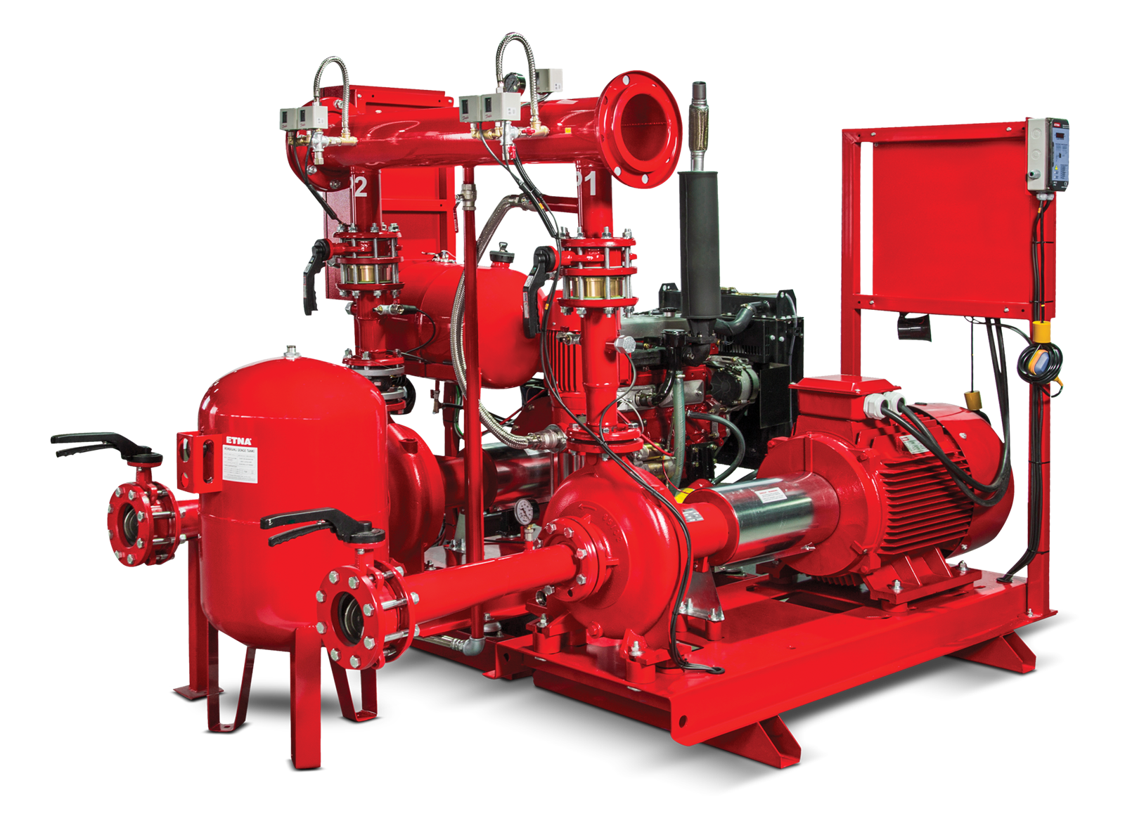 Hệ thống PCCC ETNA - Model Fire Pumps in Complying with EN 12845 Standard